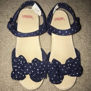 Gymboree Star Spangled Days Wedge Sandals Size 11